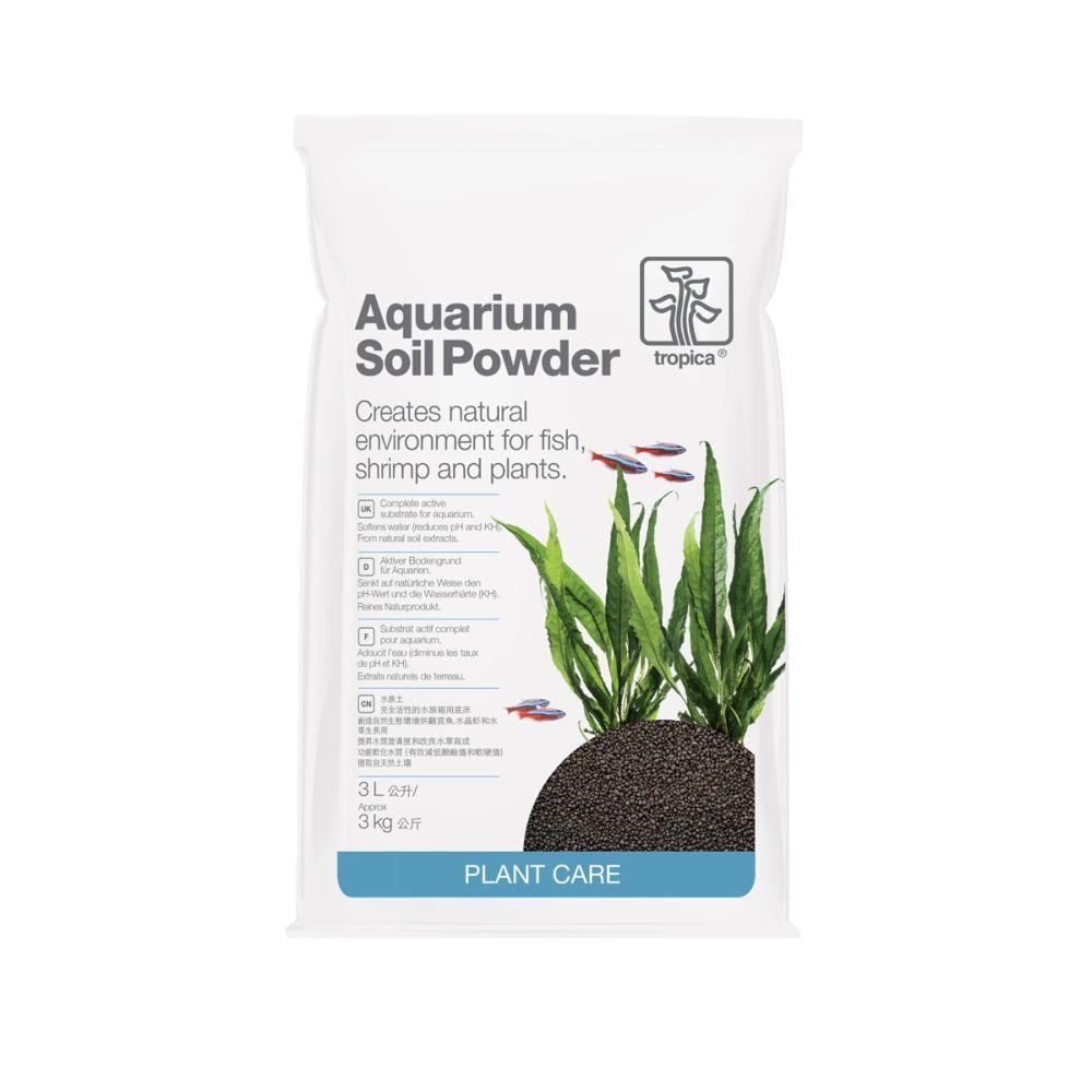 Reut aquaristik tropica soil powder 3l for Aquarium heizen